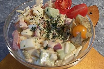 Superschneller Nudelsalat