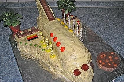 Geburtstagskuchen als 'Spaceshuttle' oder 'Raketenkuchen' 7