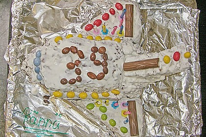 Geburtstagskuchen als 'Spaceshuttle' oder 'Raketenkuchen' 10