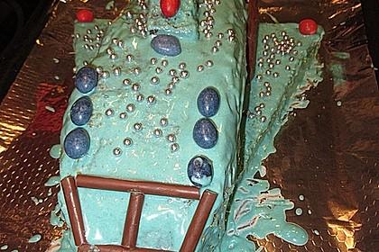 Geburtstagskuchen als 'Spaceshuttle' oder 'Raketenkuchen' 3