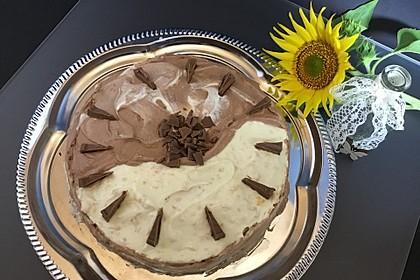 Schweizerische Toblerone - Mousse - Torte