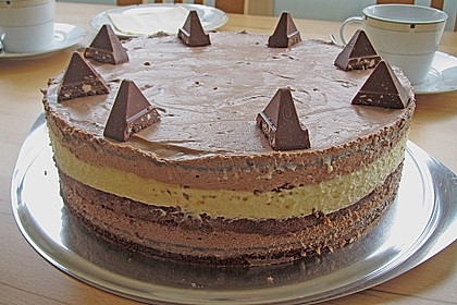 Schweizerische Toblerone - Mousse - Torte 3
