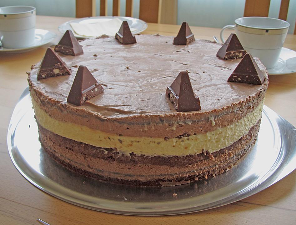 Toblerone Torte