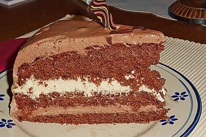 Schweizerische Toblerone - Mousse - Torte 1