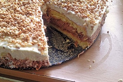 Schweizerische Toblerone - Mousse - Torte 6
