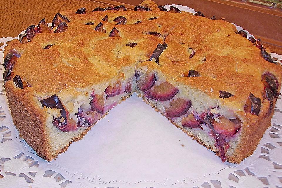 Rührkuchen - Palette (Zwetschgen Kuchen) (Rezept mit Bild