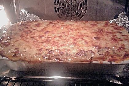 Lasagne mit getrockneten Steinpilzen