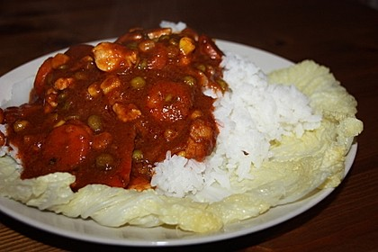 Indisches Vindaloo - Curry