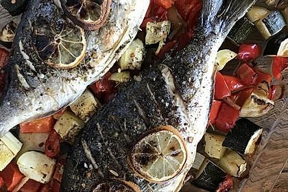 Einfacher aber schwer beeindruckender Backofen - Fisch 1