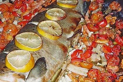 Einfacher aber schwer beeindruckender Backofen - Fisch 3