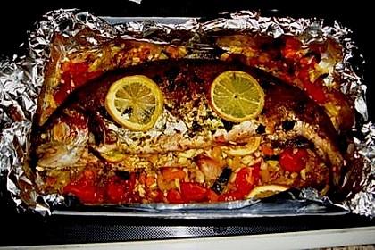 Einfacher aber schwer beeindruckender Backofen - Fisch 7
