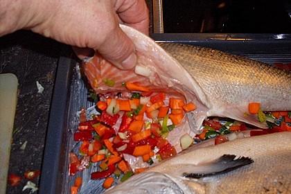 Einfacher aber schwer beeindruckender Backofen - Fisch 8