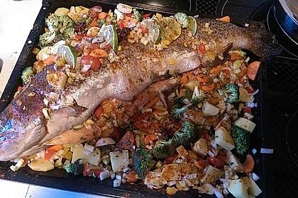 Einfacher aber schwer beeindruckender Backofen - Fisch 2