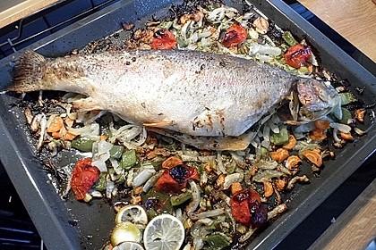 Einfacher aber schwer beeindruckender Backofen - Fisch 6