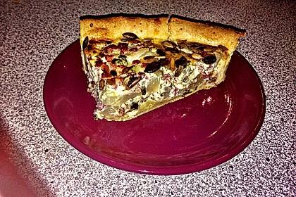 Kohlrabiquiche mit süß – pikanter Dill – Senfsauce 8