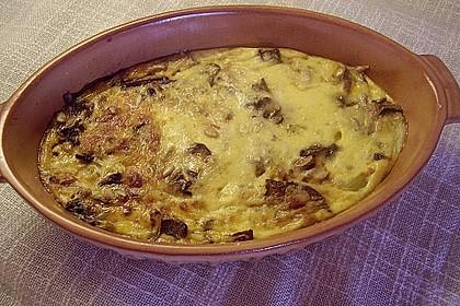 Kartoffeltorte mit Pilzen 4