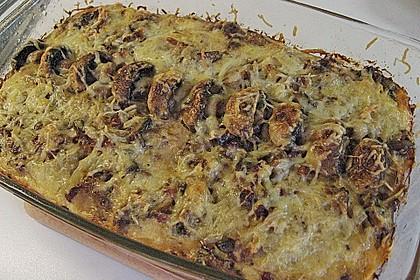 Kartoffeltorte mit Pilzen 2