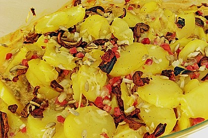 Kartoffeltorte mit Pilzen 6