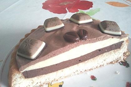 3 schichtige Mousse au chocolat 1