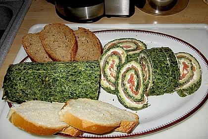 Lachsrolle mit Spinat 24