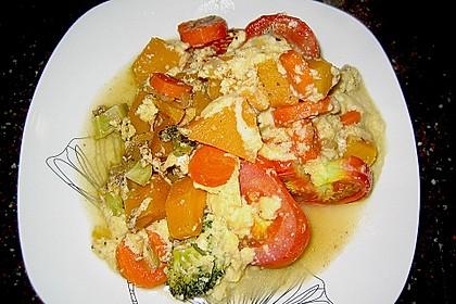 Polenta - Gemüseauflauf 10