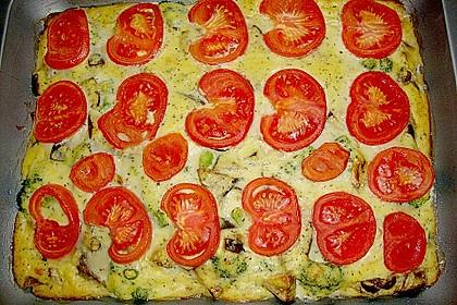 Polenta - Gemüseauflauf 4
