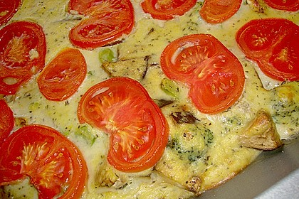 Polenta - Gemüseauflauf 3