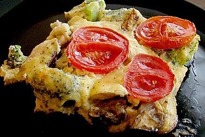 Polenta - Gemüseauflauf 2