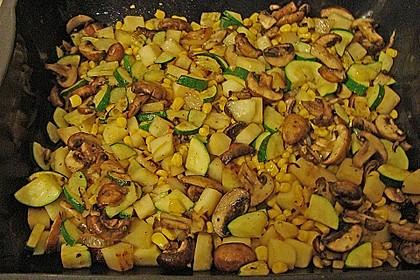 Polenta - Gemüseauflauf 14