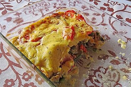 Polenta - Gemüseauflauf