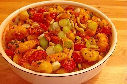 Gnocchisalat 1