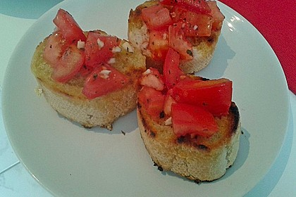 Bruschetta 'italiano originale' 1