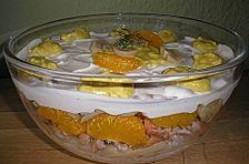 Schichtsalat mit Reis