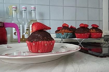 Erdbeer - Schoko - Muffins 4