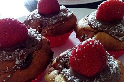 Erdbeer - Schoko - Muffins 2