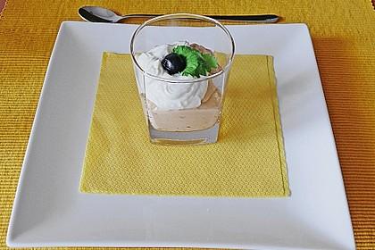 Schnelles Erdnussbutter - Schmand - Dessert 2