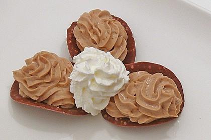 Schnelles Erdnussbutter - Schmand - Dessert 3
