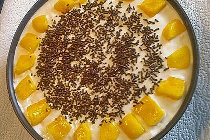 Frischkäsetorte mit Mandarinen 3