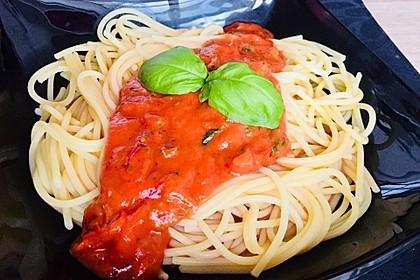 Schnelle Tomaten - Mozzarella - Sauce 2