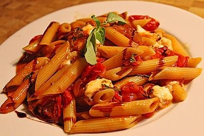 Schnelle Tomaten - Mozzarella - Sauce 1