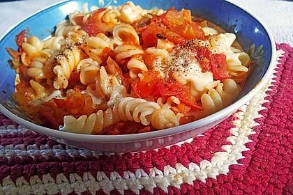Schnelle Tomaten - Mozzarella - Sauce 5