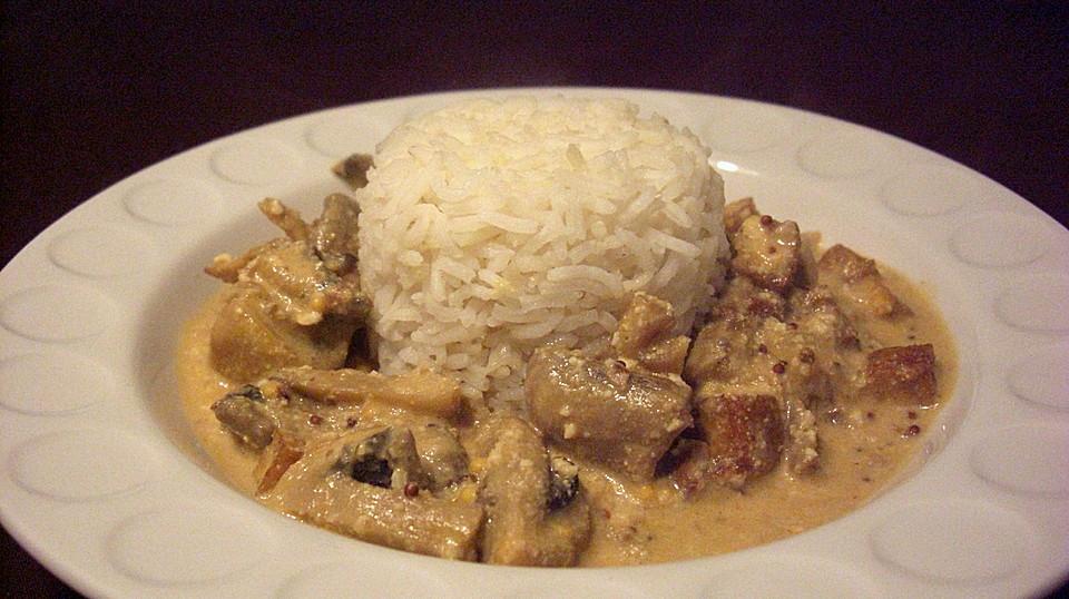 Tofu Stroganoff Recipe — Dishmaps