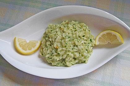 Rezeptbild zum Rezept Zitronenrisotto