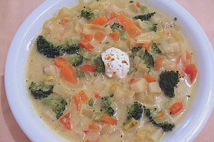 Gemüseeintopf mit Kokosmilch 16