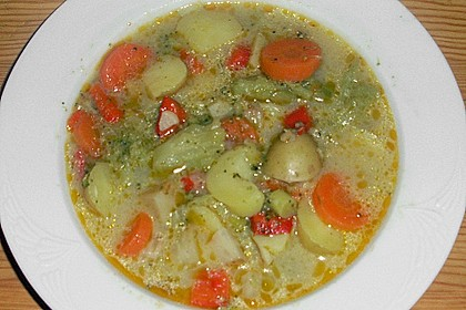 Gemüseeintopf mit Kokosmilch 37