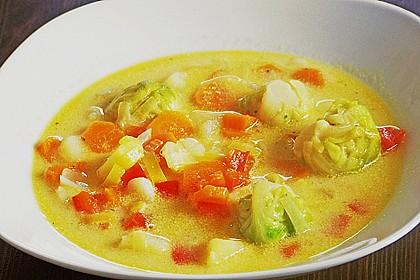 Gemüseeintopf mit Kokosmilch 34