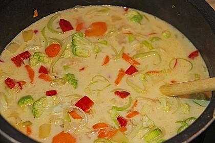 Gemüseeintopf mit Kokosmilch 7