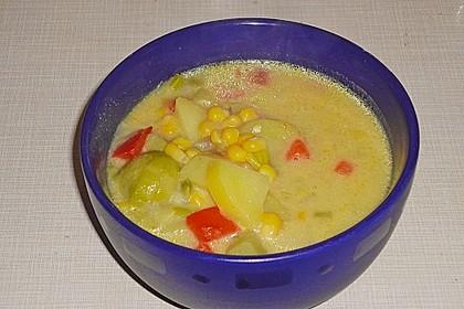 Gemüseeintopf mit Kokosmilch 29