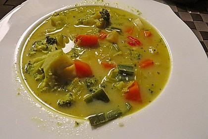 Gemüseeintopf mit Kokosmilch 23