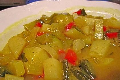 Gemüseeintopf mit Kokosmilch 36
